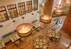 TRATA second floor dining 4